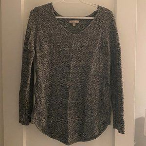 Banana Republic Gray Sweater (with zipper sides)